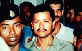 Second photo is of the ULFA leader while he was arrested by the Assam Police in 1991. He was released later.