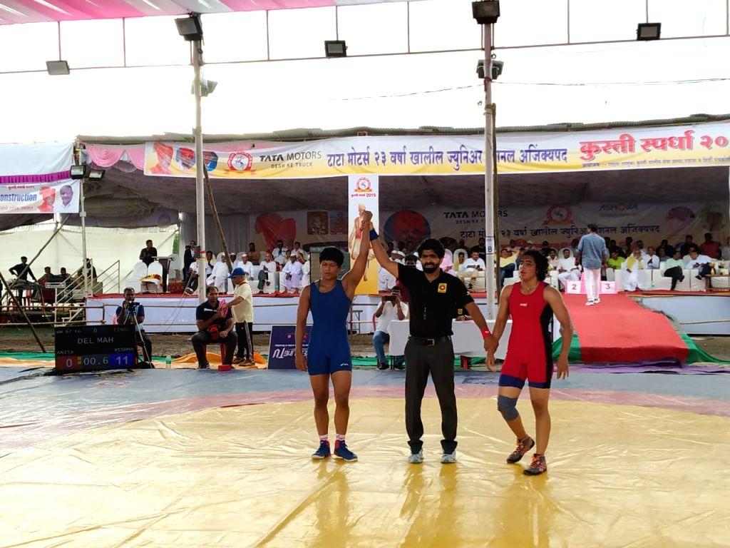 Second Tata Motors U-23 National Wrestling Championship underway in Shirdi, Maharashtra.
