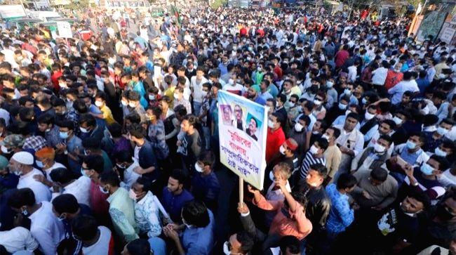 Secular activists place 7 demands before Bangladesh govt
