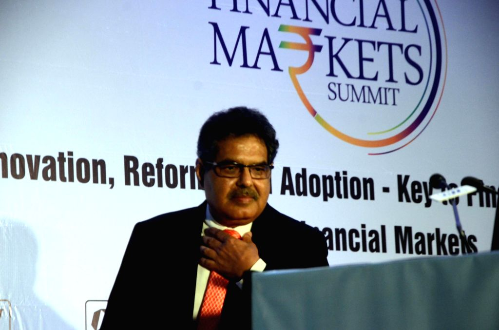Securities and Exchange Board of India (SEBI) Chairman Ajay Tyagi at Financial Markets Summit in Mumbai, on Dec 7, 2018.