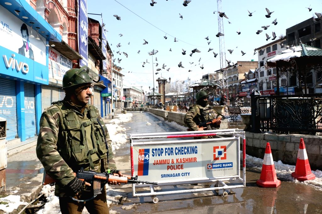 Security agencies have identified at least four 'hot spots' in Jammu and Kashmir ahead of Eid on August 12 when restrictions imposed upon civilians there are likely to be lifted. (Photo: IANS)