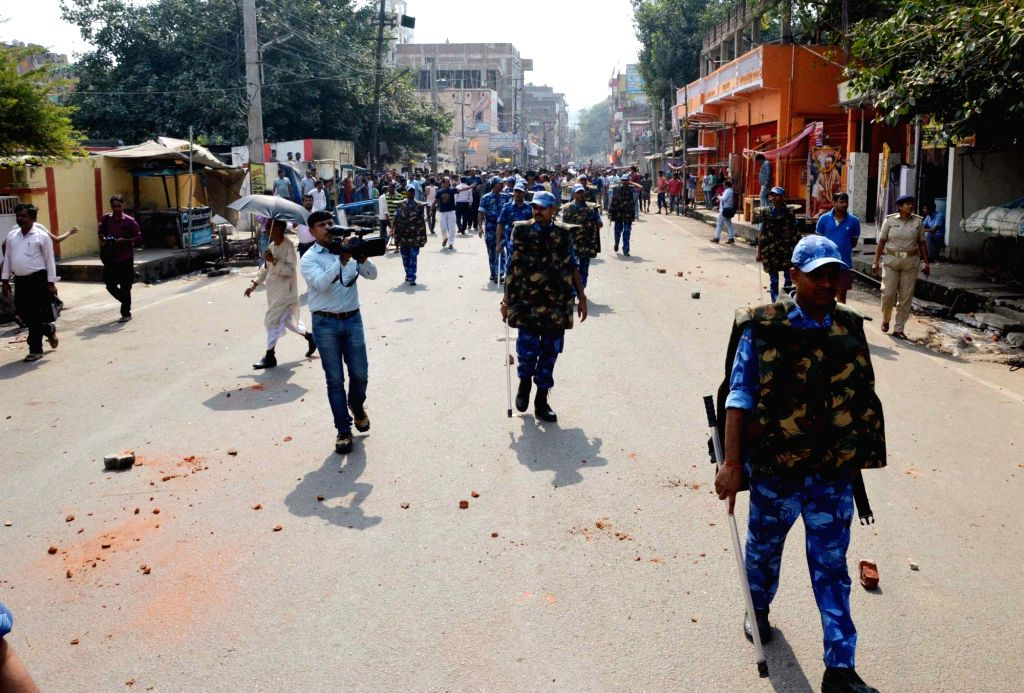 Security beefed up after more than 300 constables went on a rampage in Patna on Nov 2, 2018. The constables went berserk after a woman colleague who had been reportedly refused leave died. ...