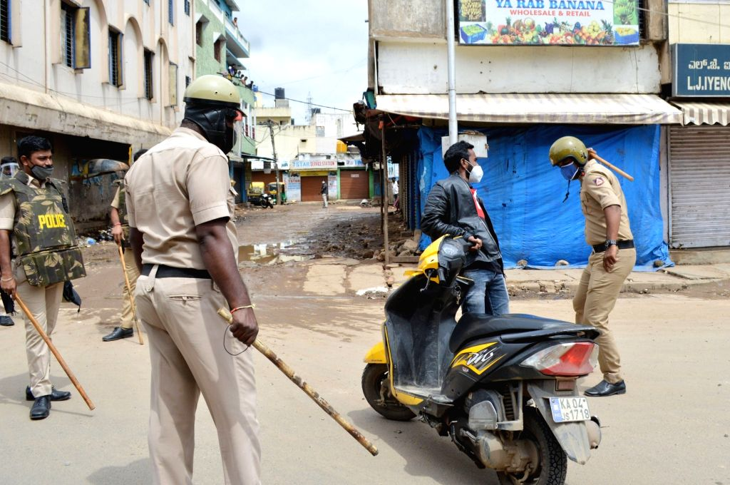Security beefed up after prohibitory orders were imposed in Bengaluru while curfew was clamped in the D.J. Halli and K.G. Halli police station limits after three people have reportedly ...