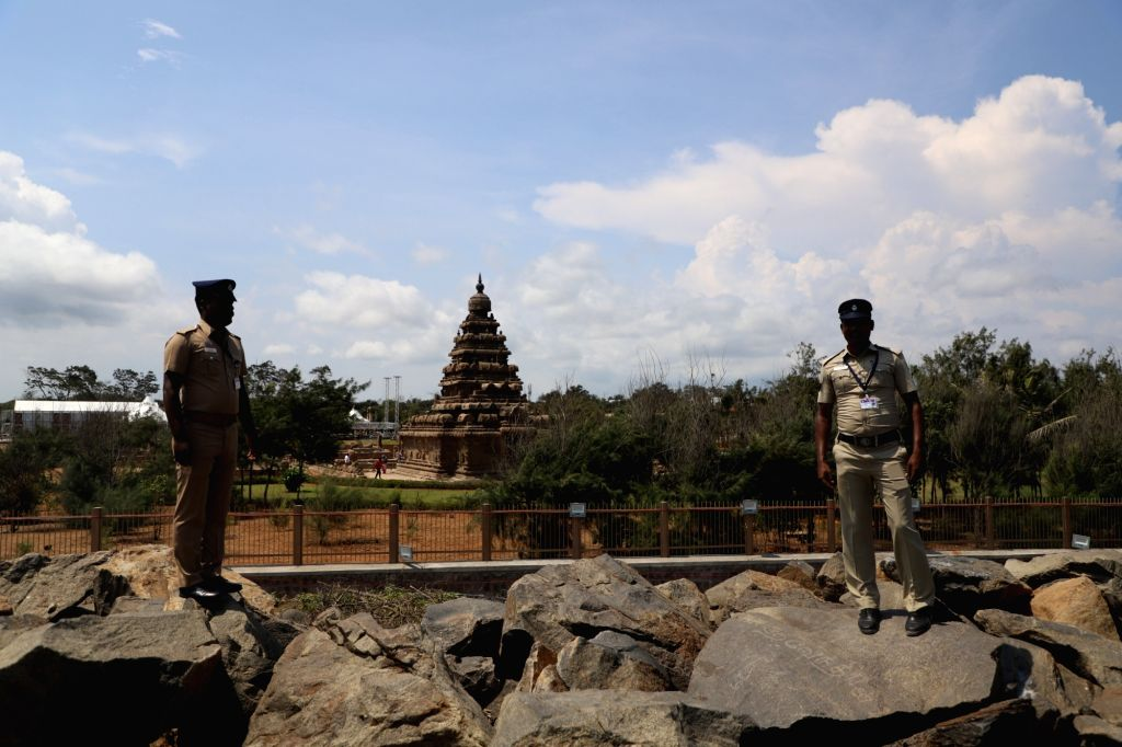 Security beefed up ahead of Chinese President Xi Jinping's visit to India from October 11-12 for the second informal summit with Prime Minister Narendra Modi, in Tamil Nadu's ... - Narendra Modi