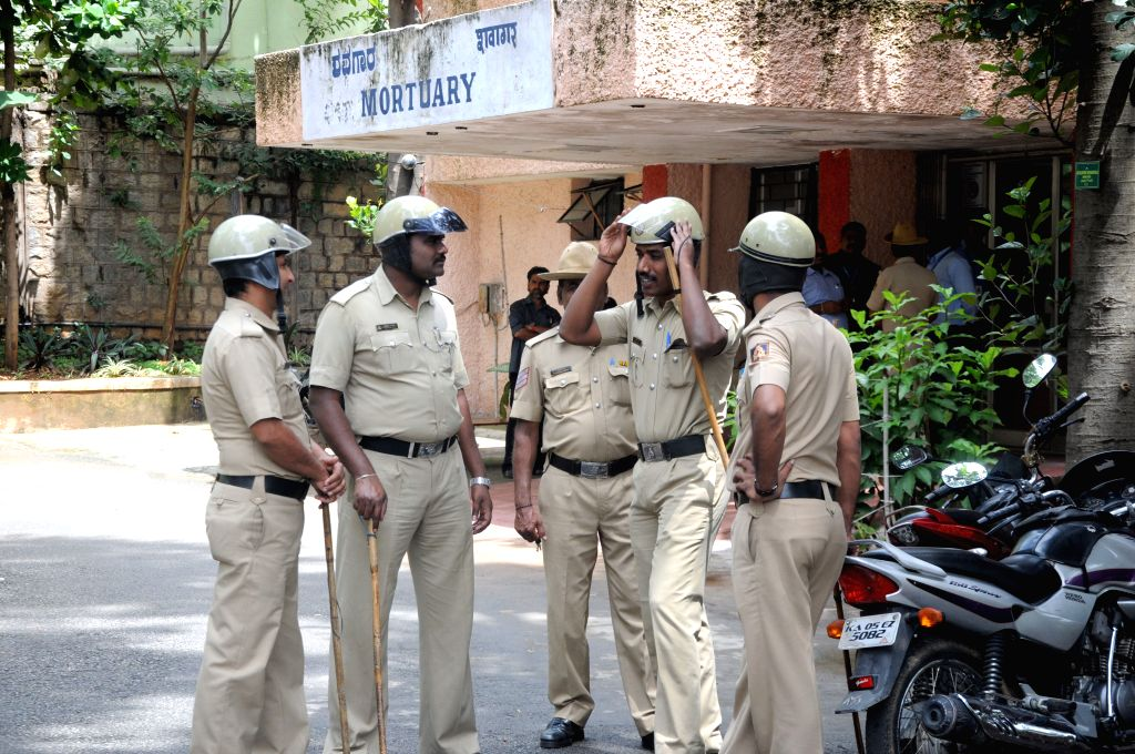 Security beefed-up at National Institute of Mental Health and Neurosciences (NIMHANS) where an under-treatment 22-year-old prisoner on 16th Aug, 2015 snatched a gun and opened ...