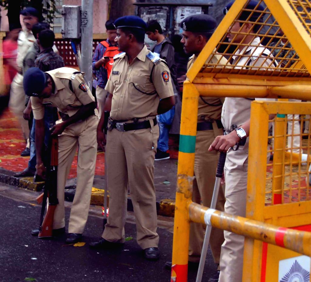 Security beefed up in Mumbai in the wake of excution of Mumbai 1993 serial blasts convict Yakub Memon, on July 29, 2015.