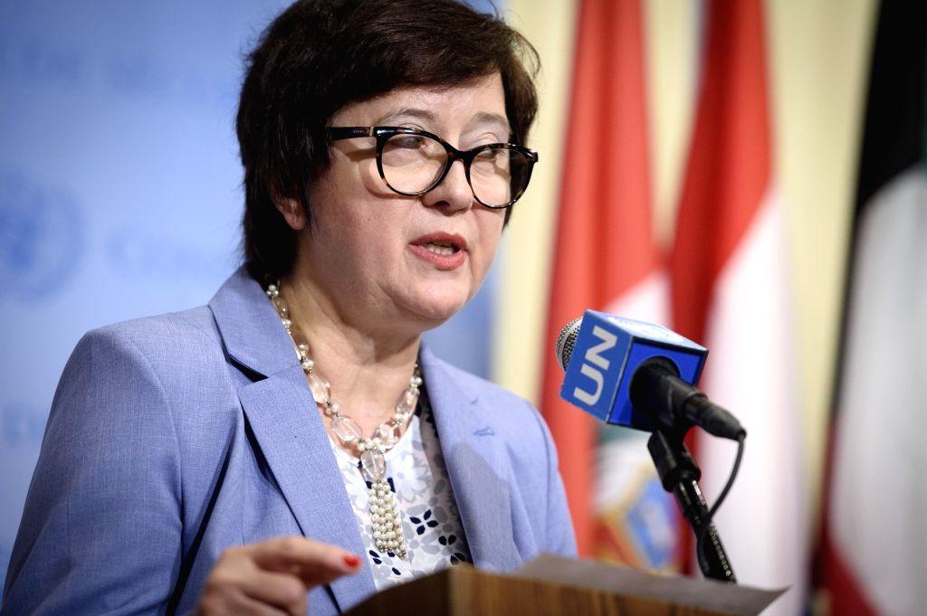 Security Council President Joanna Wronecka