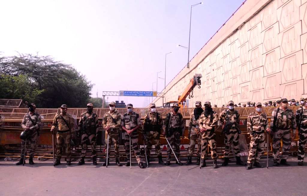 Security forces continued to mount a strict vigil at the Ghazipur entry point on the Delhi-Uttar Pradesh border as scores of farmers from western Uttar Pradesh rallied against the Central ...