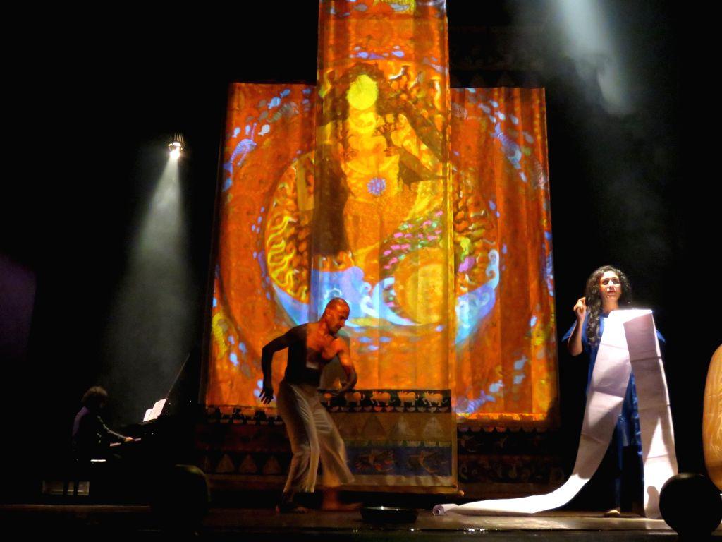 Seema Kohli's upcoming performance and exhibition. - Seema Kohli