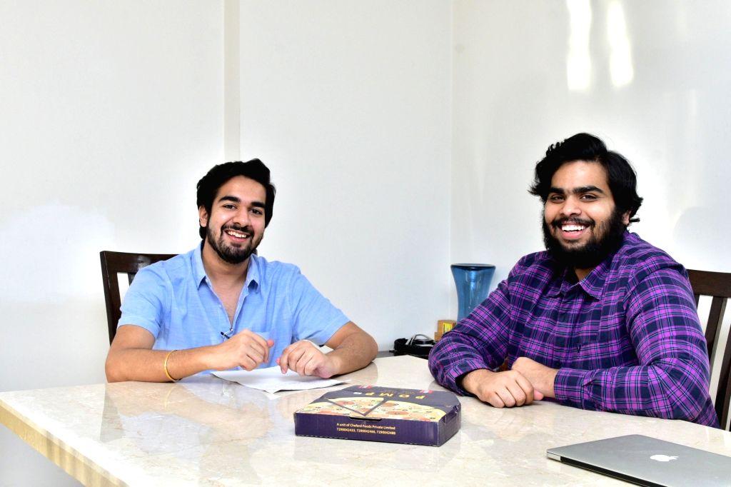 Sehaj Singh Kukreja and Tushar Anand, Co-founders, Cheferd Foods. - Sehaj Singh Kukreja