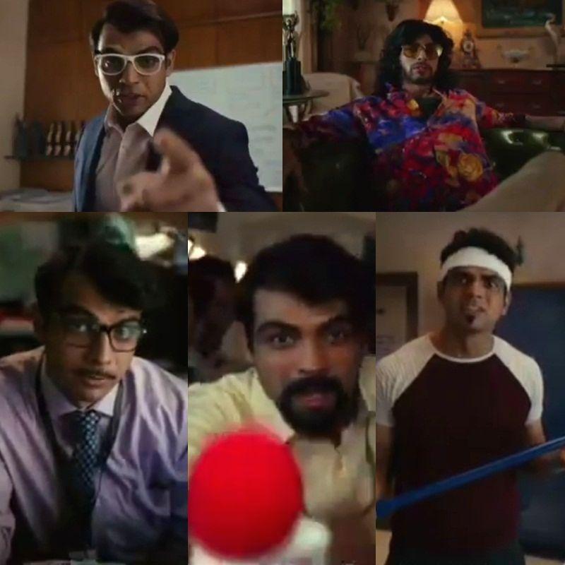 Sehwag leads twitterati cheer for Neeraj Chopra's acting prowess. - Neeraj Chopra