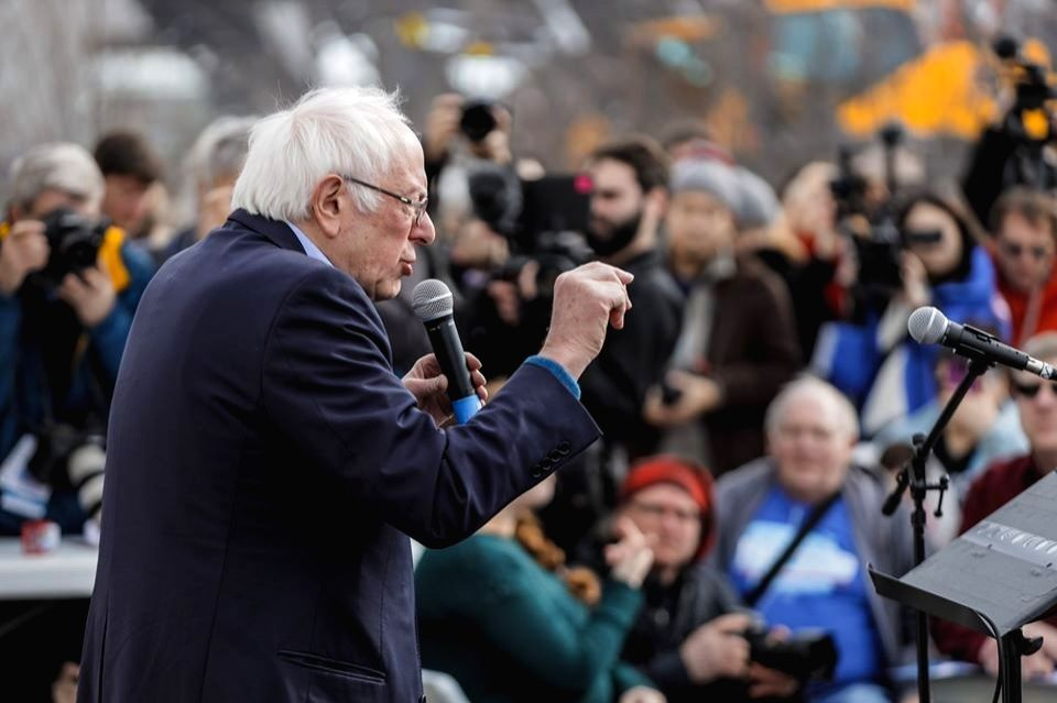 Senator Bernie Sanders is running for the Democratic Party nomination for president. (Photo: Sanders Facebook)