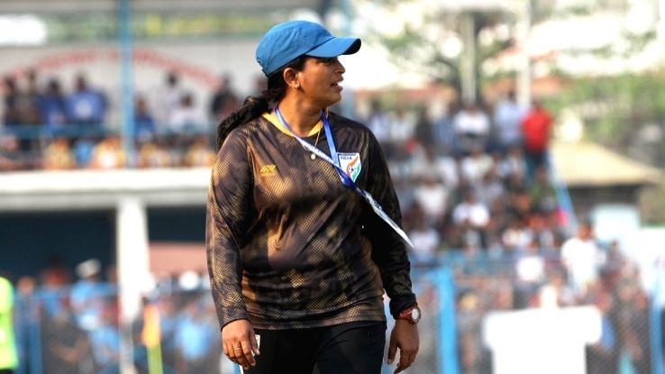 Senior Indian Women's Team Head Coach Maymol Rocky.