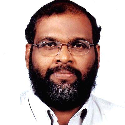 Senior Kerala political leader C.P. John.(photo:Twitter)