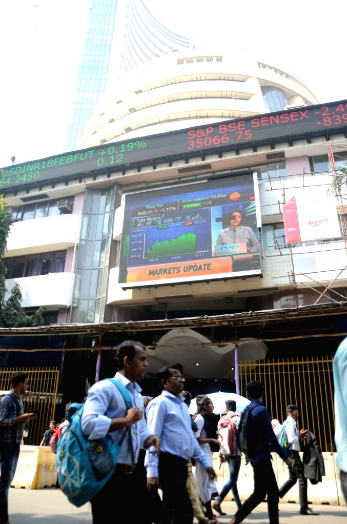 Sensex ends at record closing level amid choppy trade (Ld) (Photo: IANS)