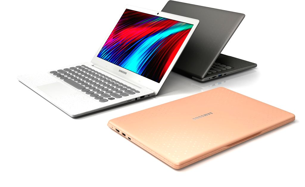 Seoul: This photo, provided by Samsung Electronics Co., shows the tech giant's new laptop, Flash, which was released on Oct. 22, 2018. The new laptop boasts an Internet speed of up to 1.7 gigabytes per second, allowing users to download large files a