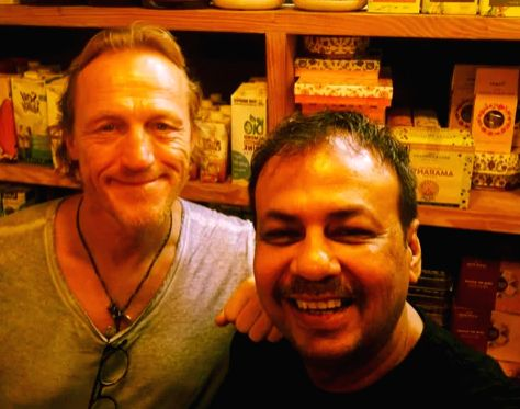Ser Bronn of 'Game Of Thrones' spotted in Mumbai.