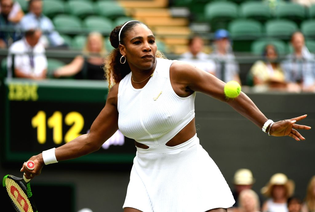 Serena Williams. (Xinhua/Lu Yang/IANS)