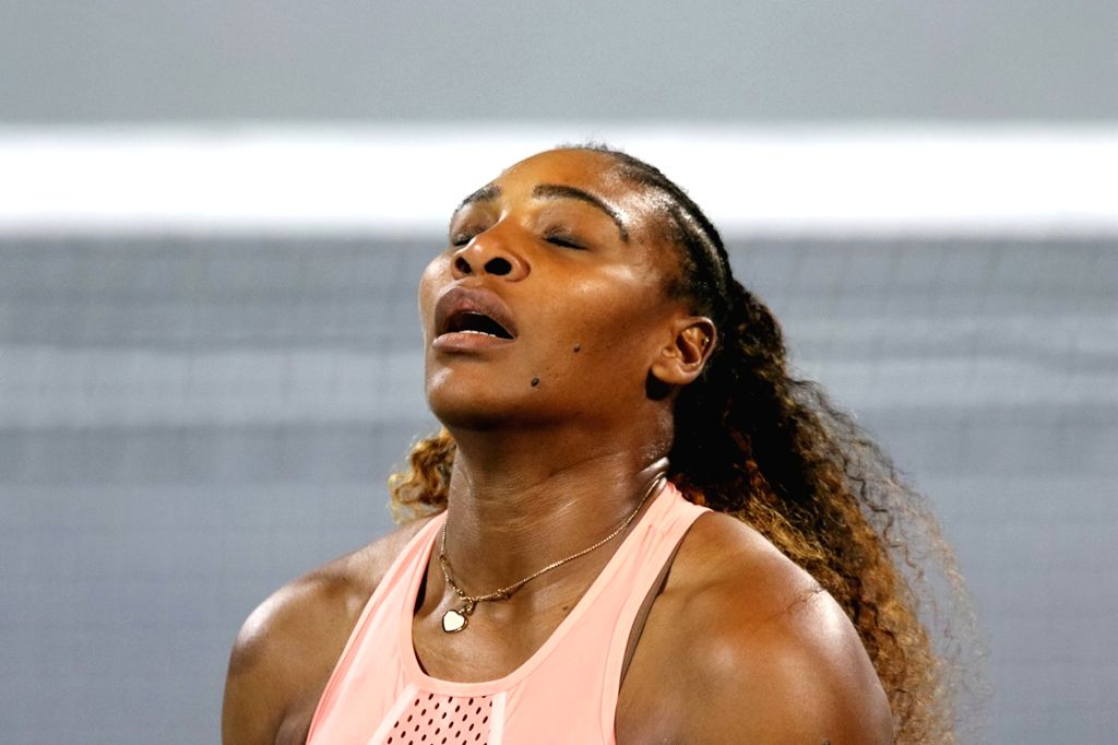 Serena Williams. (Xinhua/Mahmoud Khaled/IANS)