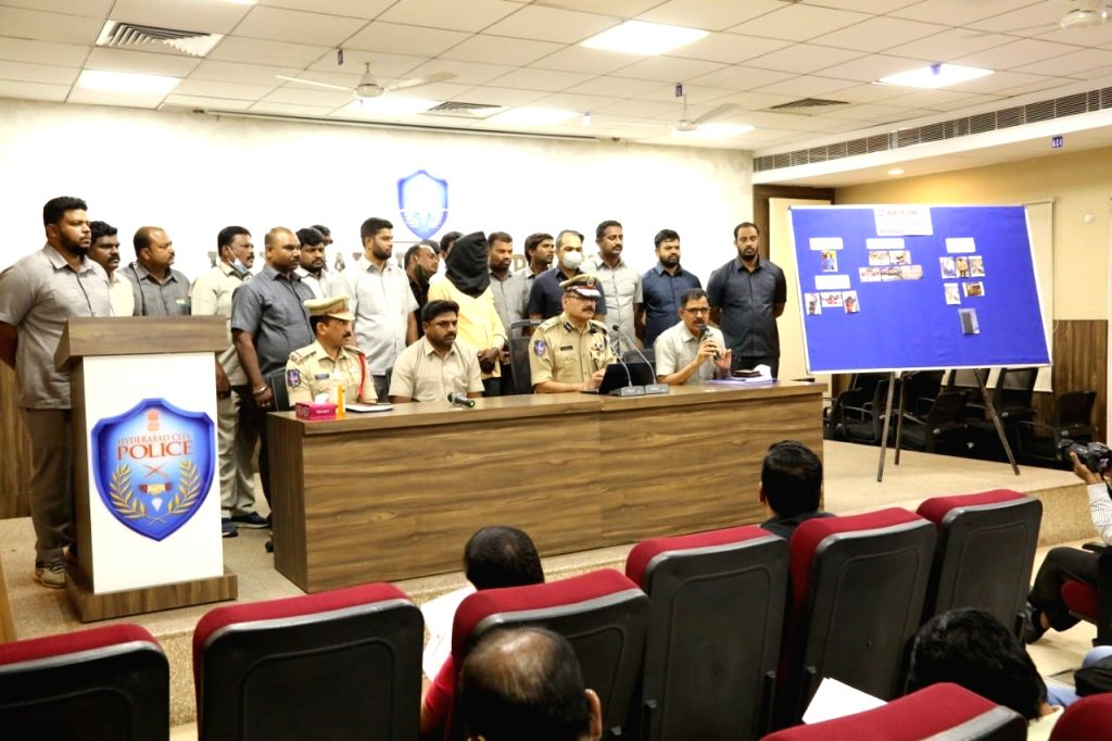 Serial killer arrested in Hyderabad.