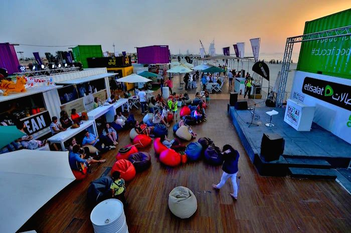 Set right on the beach behind Sunset Mall here, Etisalat Beach Canteen is the unmissable, free-to-attend Dubai Food Festival beach club.