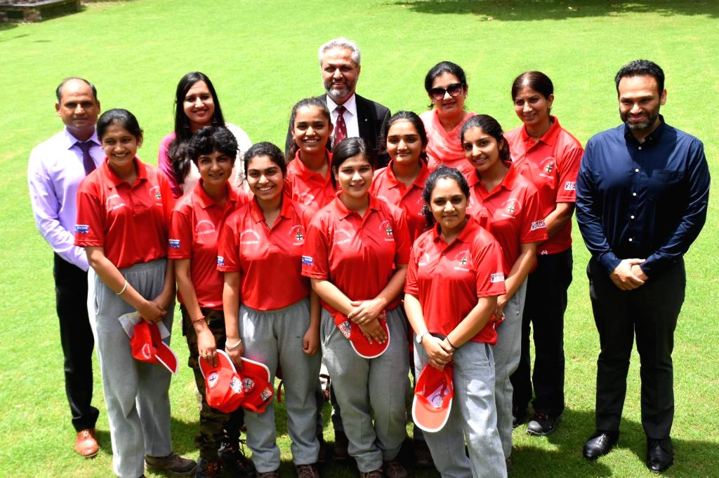 Seven girl students of Lawrence School in Sanawar in Himachal Pradesh have set out to capture Africa's highest range Mt Kilimanjaro located at 5,895 metres above sea level. The girls aged between 15 and 18 years were shortlisted on the bas