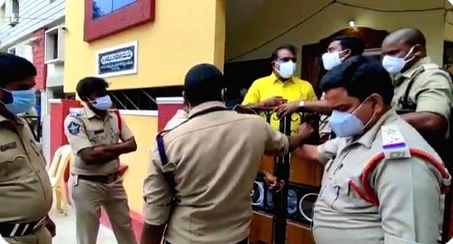 Several TDP leaders in Andhra put under house arrest