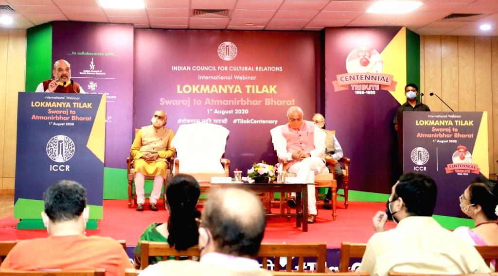 Shah rekindles Tilak's 'Swaraj' call as 'Aatmanirbhar' fires up.