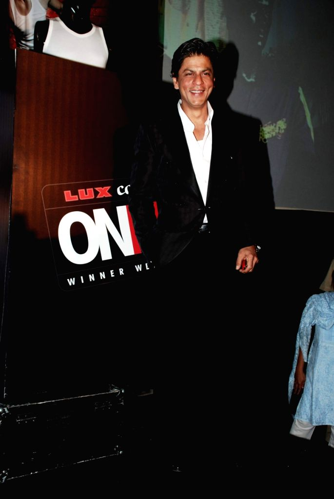 Shah Rukh Khan announced ambassador of Lux innerwear at Sahara Star.