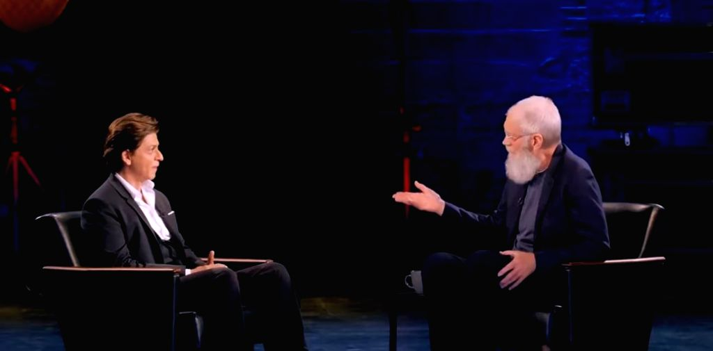 Shah Rukh Khan's fans across the globe have fallen in love with the superstar all over again after watching his latest interview with television host David Letterman on Netflix, which is currently ... - Rukh Khan