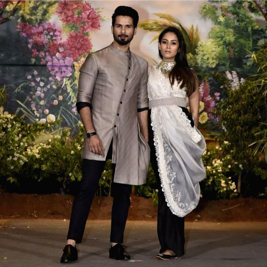 Shahid Kapoor and his wife Mira Rajput. (Photo: IANS) - Shahid Kapoor