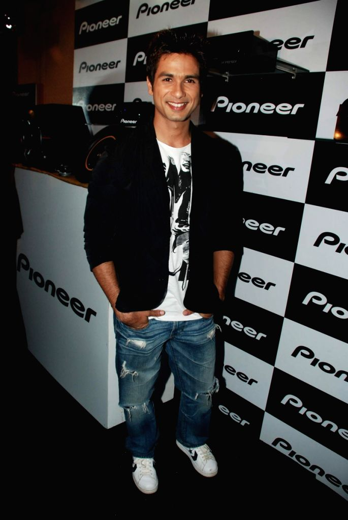 Shahid Kapoor at Pioneer India's celeberation bash.