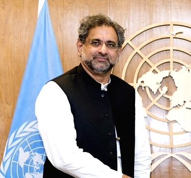 Shahid Khaqan Abbasi. (File Photo: IANS)