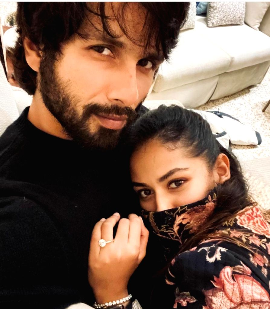 Shahid needs Mira by his side during 'rainy winter' eve.