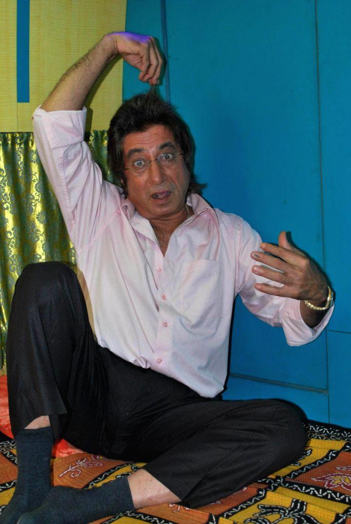"""Shakti Kapoor at the mahurat of film """"Payar ka Funda"""" at Madh, Mumbai. - Kapoor"""