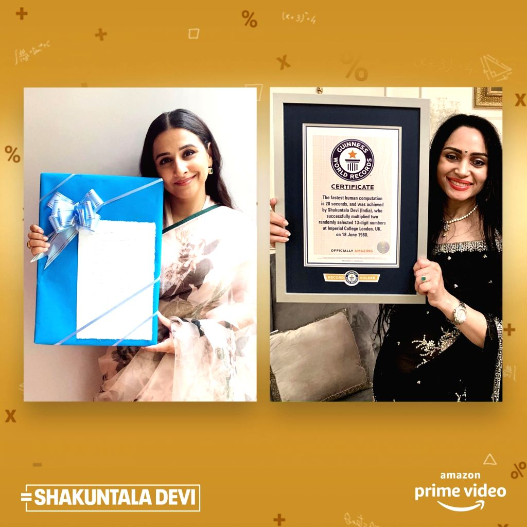 Shakuntala Devi's Guinness World Record certificate finally reaches home
