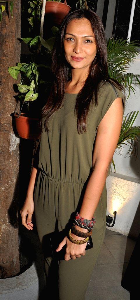 Shamita Singha during Mirabella Bar & Kitchen Launch in Mumbai on July 4, 2016.