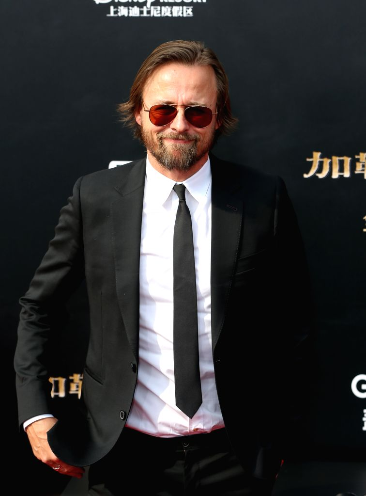 """SHANGHAI, May 11, 2017 - Director Joachim Ronning attends the global premiere of Hollywood film """"Pirates of the Caribbean: Dead Men Tell No Tales"""", in Shanghai, China, May 11, 2017. ..."""