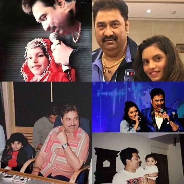 Shannon K honours her dad Kumar Sanu on Father's Day.