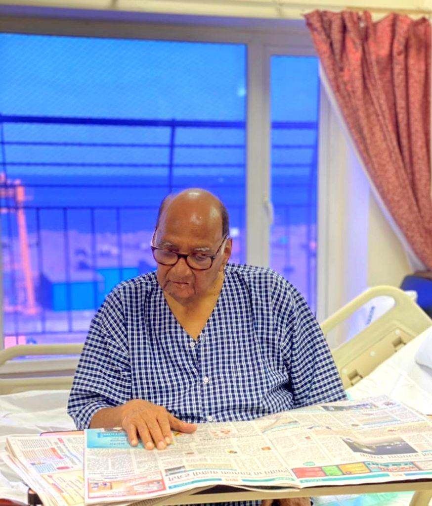 Sharad Pawar undergoes successful gall-bladder surgery.