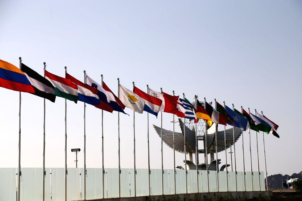 SHARM EL-SHEIKH (EGYPT), Feb. 23, 2019 Photo taken on Feb. 23, 2019 shows the International Congress Center one day before the first European Union(EU)-Arab League(AL) summit in Sharm ...