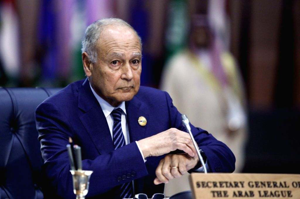 SHARM EL-SHEIKH (EGYPT), Feb. 24, 2019 Arab League (AL) Secretary General Ahmed Aboul-Gheit attends the first League of Arab States (LAS)-EU Summit in Sharm el-Sheikh, Egypt, on Feb. 24, ...