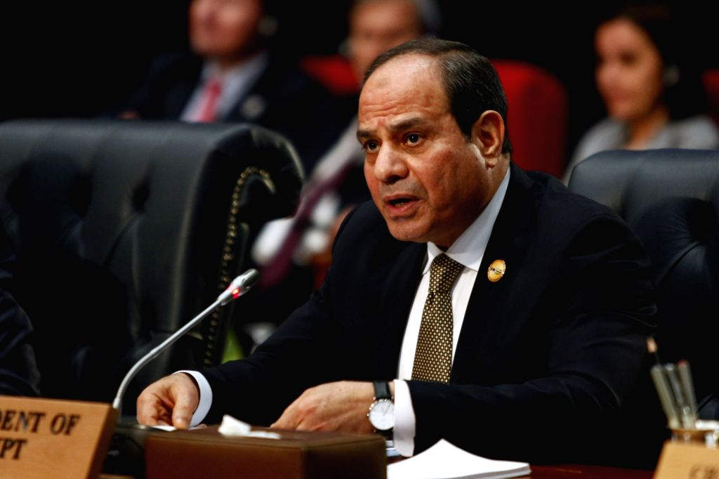 SHARM EL-SHEIKH (EGYPT), Feb. 24, 2019 Egyptian President Abdel-Fattah al-Sisi attends the first League of Arab States (LAS)-EU Summit in Sharm el-Sheikh, Egypt, on Feb. 24, 2019. The ...