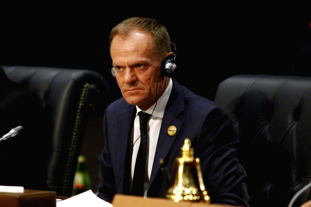 SHARM EL-SHEIKH (EGYPT), Feb. 24, 2019 European Council President Donald Tusk attends the first League of Arab States (LAS)-EU Summit in Sharm el-Sheikh, Egypt, on Feb. 24, 2019. The ...