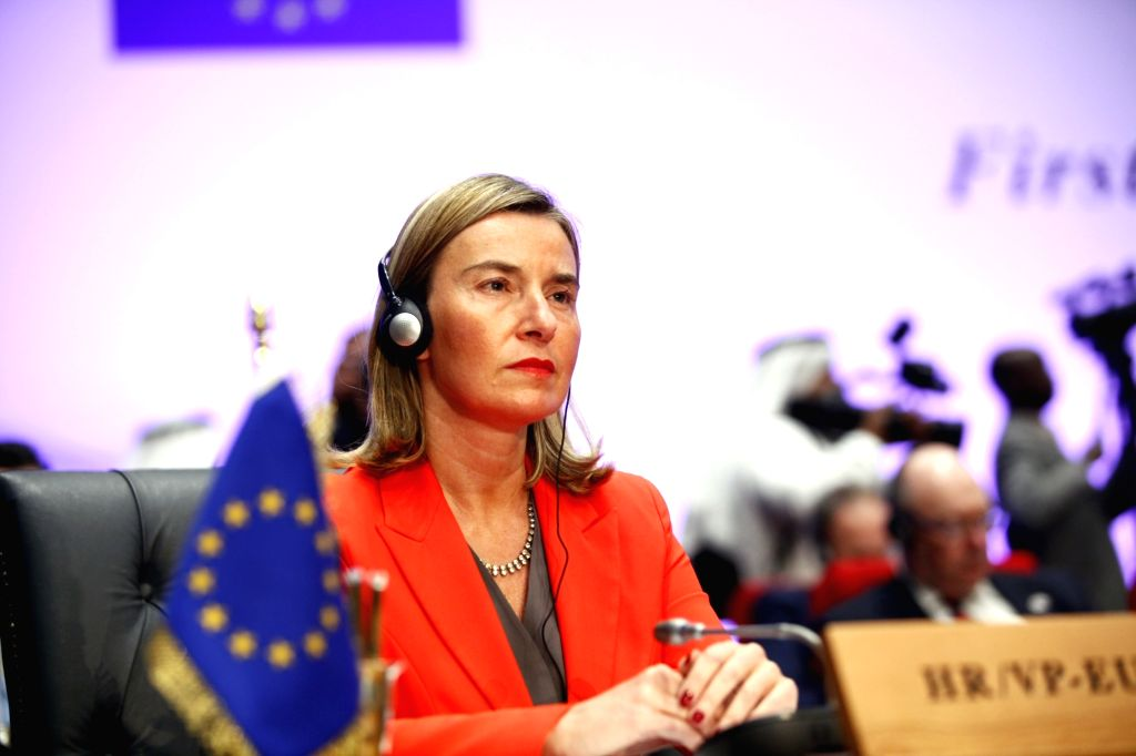 SHARM EL-SHEIKH (EGYPT), Feb. 24, 2019 High Representative of the EU for Foreign Affairs and Security Policy Federica Mogherini attends the first League of Arab States (LAS)-EU Summit in ...