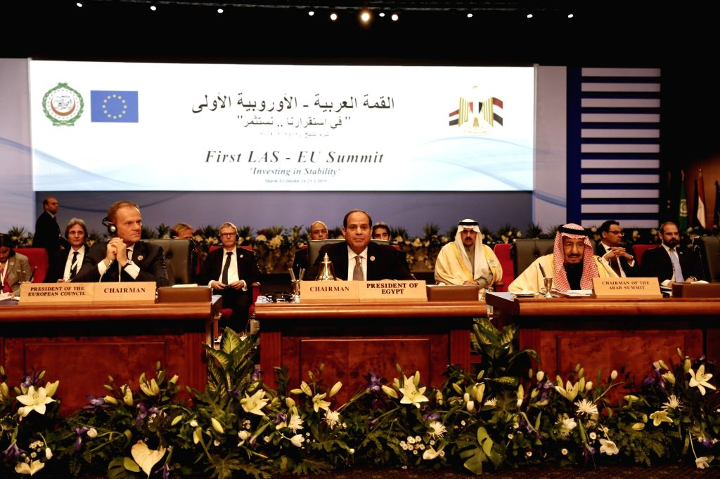 SHARM EL-SHEIKH (EGYPT), Feb. 24, 2019 Representatives attend the first League of Arab States (LAS)-EU Summit in Sharm el-Sheikh, Egypt, on Feb. 24, 2019. The first League of LAS-EU ...