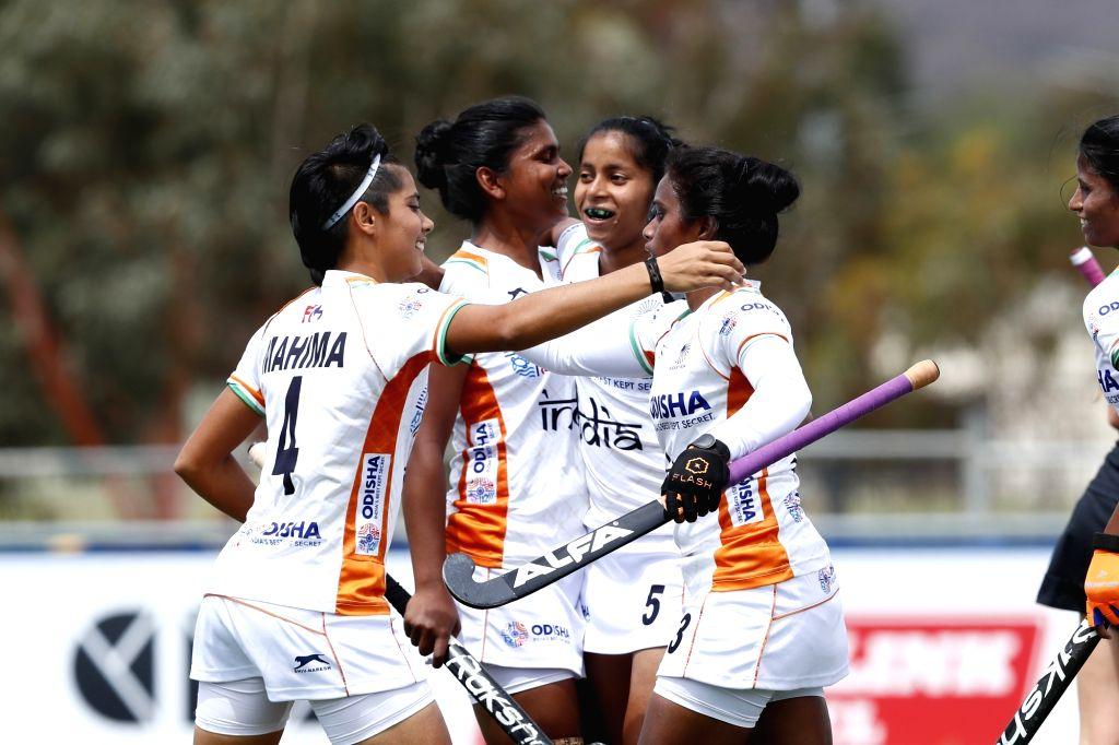 Sharmila Devi scored a brace for INdia.