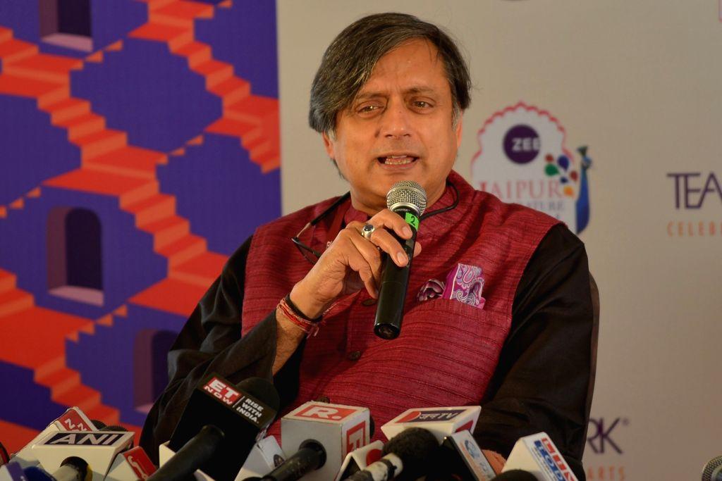 Shashi Tharoor. (Photo: Shaukat Ahmed/IANS) - Shashi Tharoor