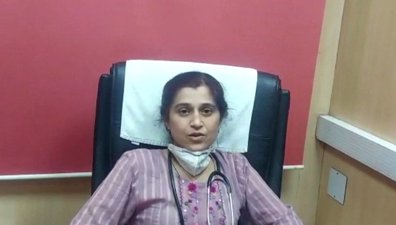 She is doctor at Gangaram.