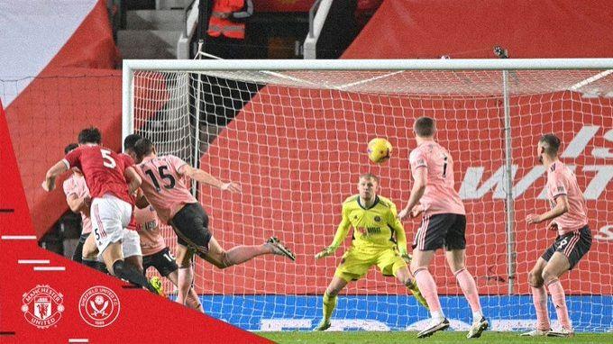 Sheffield United stun Man United in Premier League.(photo:Twitter)